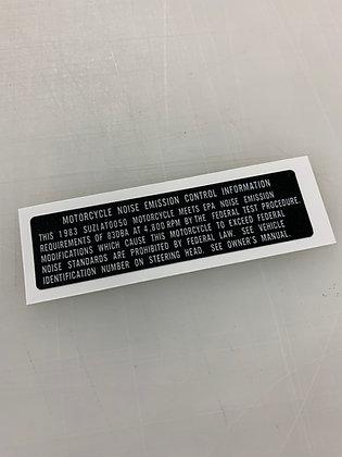 1983 ALT50 Emission