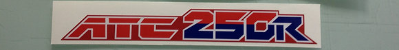 86 ATC250R Rear Fender Decal