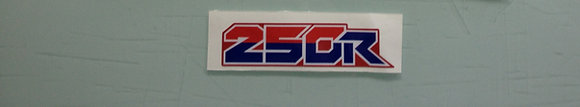 86 ATC250R Front Fender Decal