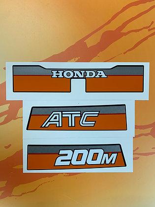1984 ATC200M Rear