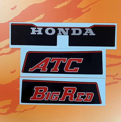 1982 Big Red rear fender set