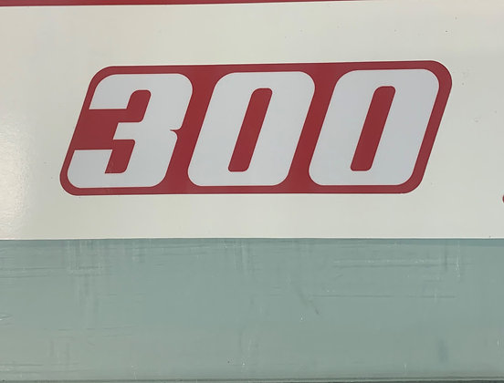 94 TRX300 Red Side Decal