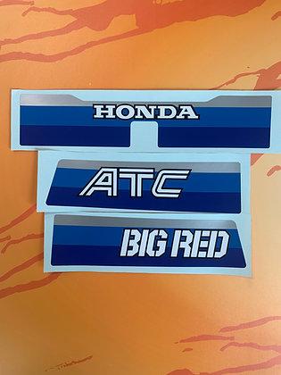 1984 Big Red Rear Set Non USA