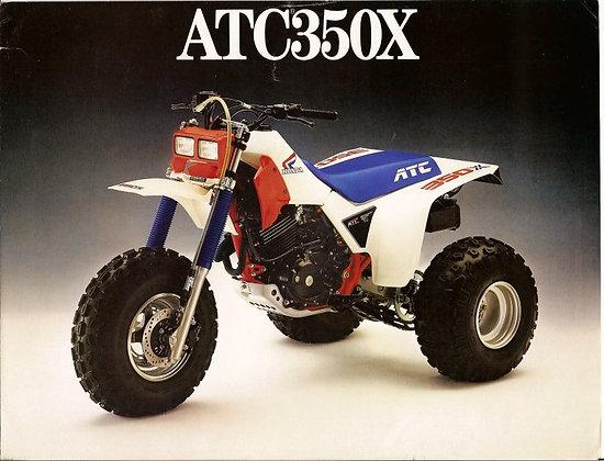 1986 ATC350X OEM Complete Kit