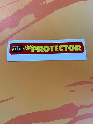 DG Protector Nerf Bar Decal Red