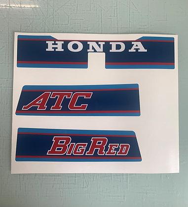 1983 Big Red rear Fender Set