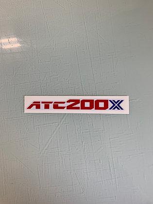 1986 ATC200X Rear fender