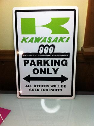 Kawasaki 73/74 KZ900 Sign