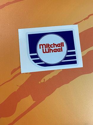 Mitchell Wheel Decal