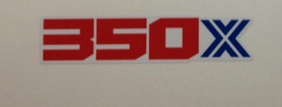 1986 Honda 350X Front fender decal OEM