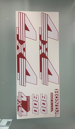 TRX300 Red Set