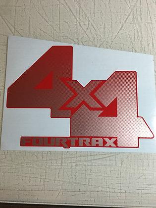 TRX350 4X4 Hood Decal