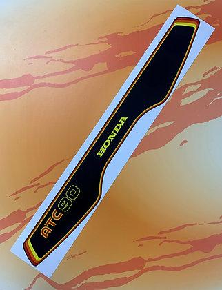 1978 ATC90 Rear Fender Decal