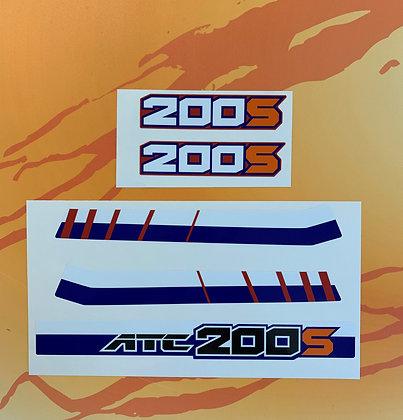 1986 ATC200S Rear Fender Set