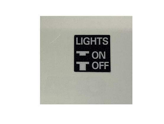Tecate Start Headlight Switch