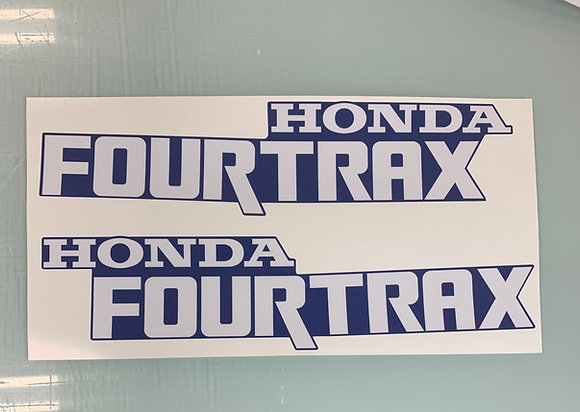 1993 TRX300 Tank Decal Blue
