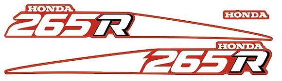 1988 TRX265R Side Stripes