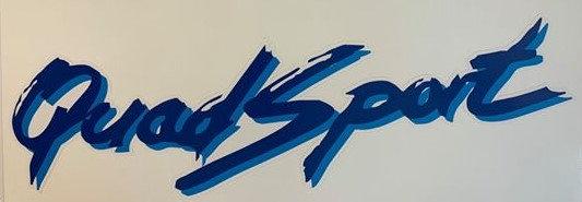 Blue Quad Sport Logo
