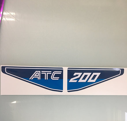 1982 ATC200 Rear Decal