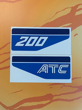 1983 ATC200 Rear Decal set