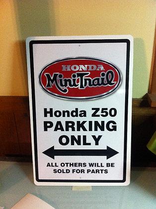 Honda Z50 K2 Sign