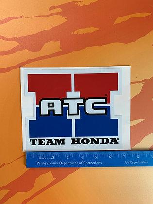 "Team Honda ATC 6"""