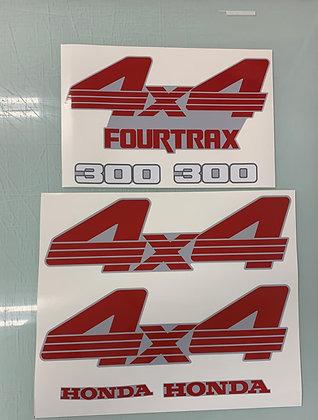 1988 TRX300FW Cosmic Grey Set