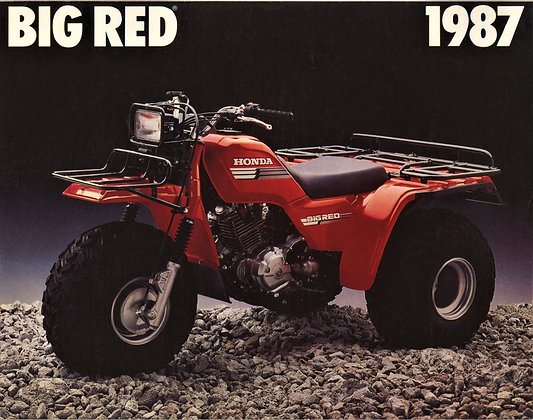 1987 Big Red Complete Kit
