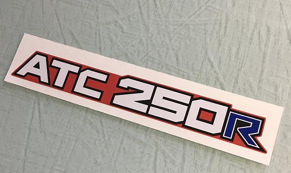 1985 ATC250R rear fender decal