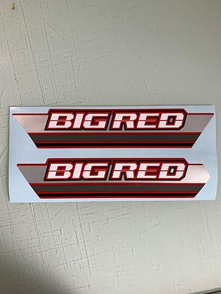 1985 Big Red Side Decals
