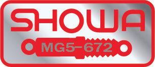MG5-672 Showa Decal 82 Honda CB1100F