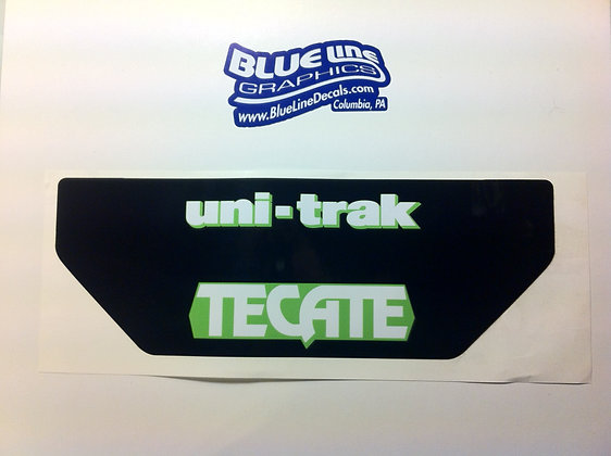1984-85 Tecate rear fender decal