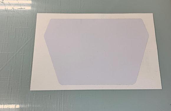 86/87 Tecate Headlight Number Plate