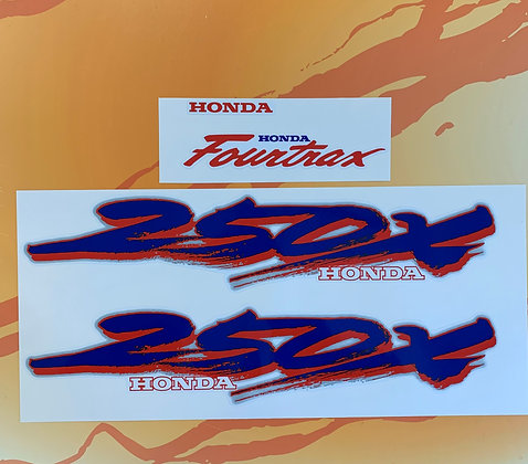 1988 TRX250X Set