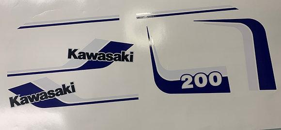 KLT200 Blue and White Kit