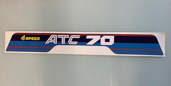 1985 ATC70 Rear Decal OEM