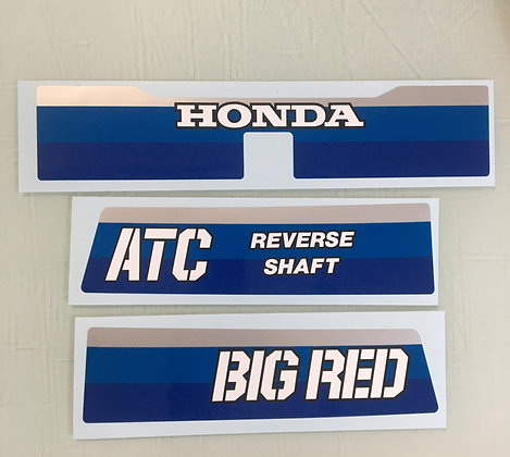 1984 Big Red Rear Set