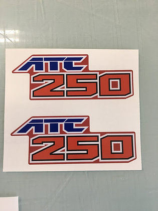 ATC250SX Side decals