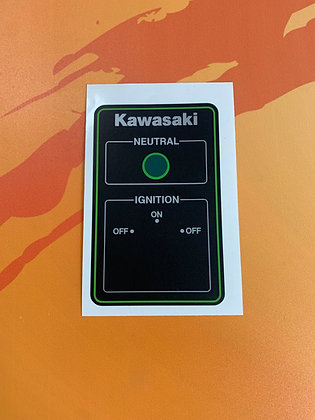 KLT Ignition Cover Green