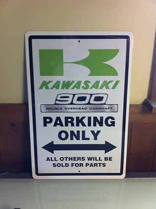 Kawasaki 75 KZ900 Sign