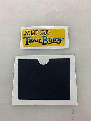 ALT50 Front Fender Emblem and Plate