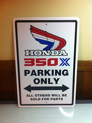 Honda 86 ATC 350X Sign