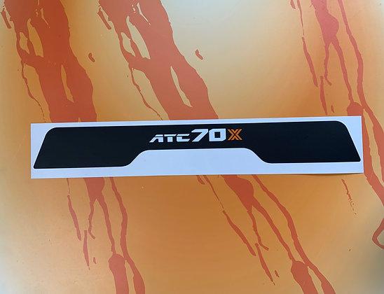 Rear 70X for ATC70