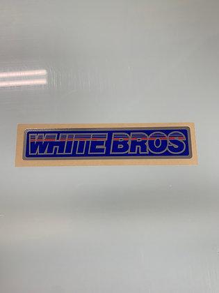 White Bros Chrome