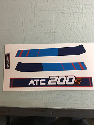1985 ATC200S Rear Fender Stripe