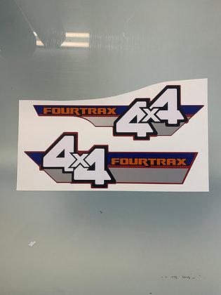 1986 TRX350 Side