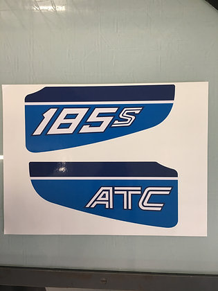 1983 ATC185 Rear Decal set