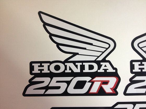 "Custom ""1988"" Style ATC 250R decal Different Styles"