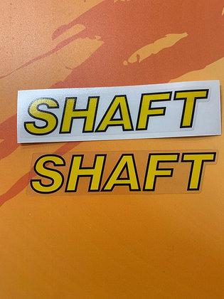 Shaft Decal
