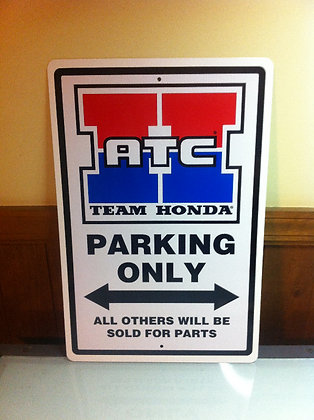 Team Honda ATC Sign